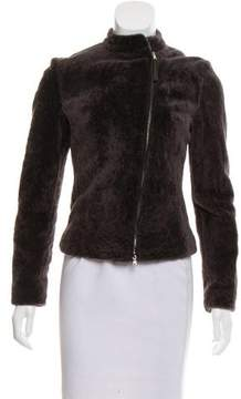 Eleventy Zip-Up Shearling Jacket w/ Tags