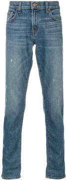J Brand light-wash fitted jeans