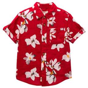 Appaman Floral Button Down Shirt (Toddler, Little & Big Boys)