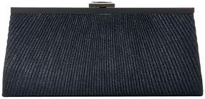 Jessica McClintock Sloan Lurex Pleated Framed Clutch Clutch Handbags