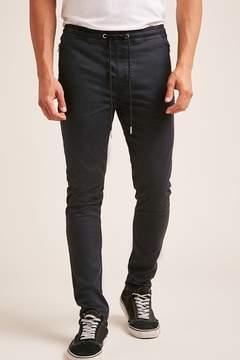 21men 21 MEN Zip-Front Slim-Fit Pants