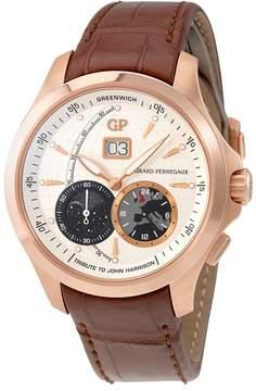 Girard Perregaux Traveller Beige Dial Men's GMT Watch