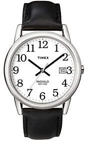 Timex Men's Silvertone Analog Casual Watch