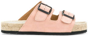 Manebi belted style slippers