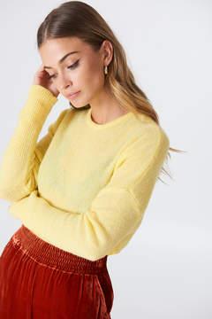 NA-KD Na Kd Wide Knitted Melange Sweater