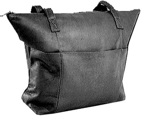 David King Leather 543 Shopping Bag
