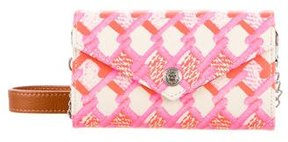 Rebecca Minkoff Printed Mini Wallet On A Chain - PINK - STYLE