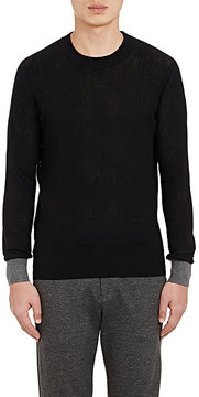 ATM Anthony Thomas Melillo MEN'S PIQUÉ-KNIT SWEATER