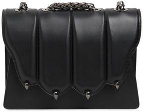 Large Griffe Leather Shoulder Bag