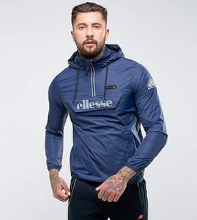 Ellesse Overhead Jacket With Reflective Logo In Navy
