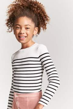 Forever 21 Girls Stripe Sweater (Kids)