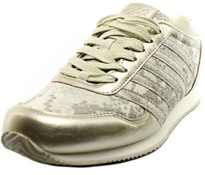 K-Swiss New Haven Snake Cmf Round Toe Synthetic Sneakers.