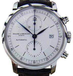 Baume & Mercier Classima Stainless Steel Chronograph 42mm Watch