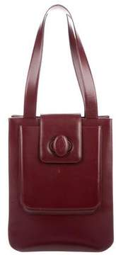Cartier Grained Leather Shoulder Bag