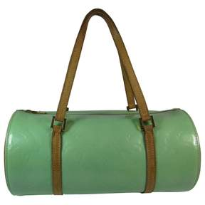 Louis Vuitton Bedford leather satchel - GREEN - STYLE