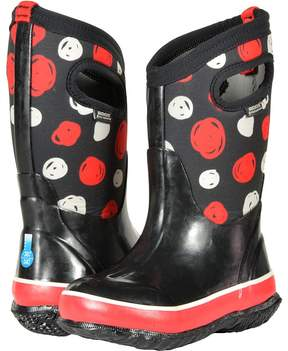 Bogs Classic Sketched Dots Girls Shoes