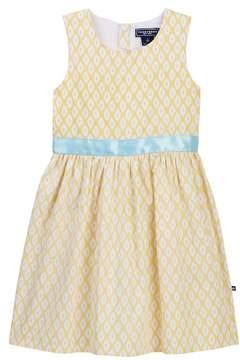 Toobydoo Buttercup Ikat Dress (Baby, Toddler, Little Girls & Big Girls)