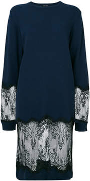 Each X Other lace detail sweater dress