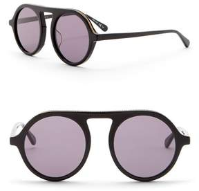 Stella McCartney Women's 48mm Chain Modified Aviator Sunglasses