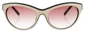 Just Cavalli Cat-Eye Studded Sunglasses