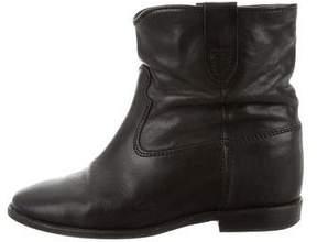 Etoile Isabel Marant Round-Toe Ankle Boots