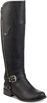 G by Guess Harson Wide-Calf Riding Boots Women's Shoes