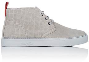 Del Toro MEN'S CROCODILE-EMBOSSED CHUKKA SNEAKERS