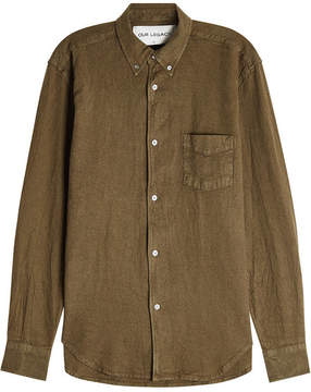Our Legacy Linen-Cotton Shirt