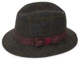 Robert Graham Cabrini Plaid Fedora