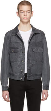 Saturdays NYC Black Denim Ray Jacket