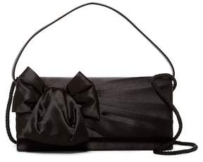 Jessica McClintock East/West Satin Box Clutch