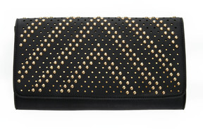 Cassidy Gold Stud Clutch