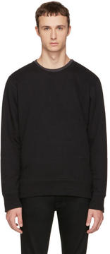 Nudie Jeans Black Evert Light Sweatshirt
