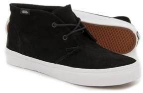 Vans Unisex Chukka Slim Suede Sneakers Black M3.5 W5