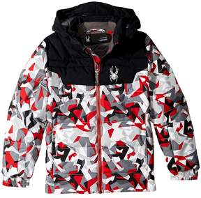 Spyder Mini Clutch Down Jacket Boy's Coat