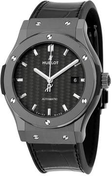 Hublot Classic Fusion Black Carbon Fiber Dial Men's Watch