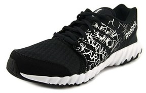 Reebok Twistform Youth Round Toe Synthetic Black Running Shoe.