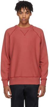 Rag & Bone Red Racer Sweatshirt