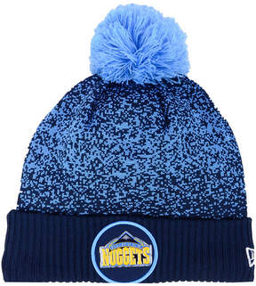 New Era Denver Nuggets On-Court Collection Pom Knit Hat
