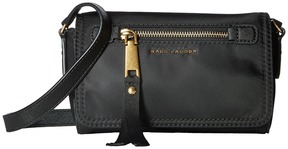 Marc Jacobs Trooper Crossbody Cross Body Handbags - BLACK - STYLE