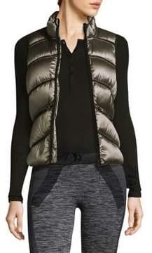 Blanc Noir Quilted Puffer Vest