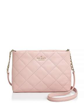 Kate Spade Emerson Place Caterina Handbag - ROSY CHEEKS PINK/GOLD - STYLE