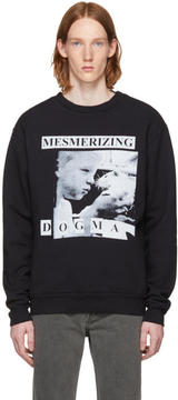 Enfants Riches Deprimes Black Mesmerizing Dogma Crewneck Sweatshirt