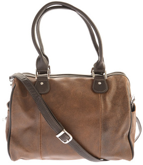 Piel Leather Vintage Satchel Handbag 2985