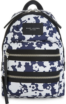 Marc Jacobs Blumon Biker canvas mini backpack - BLUE MULTI - STYLE