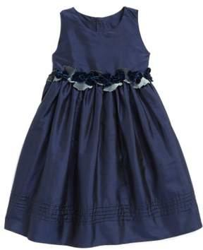 Isabel Garreton Infant Girl's Silk Sleeveless A-Line Dress