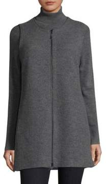 Eileen Fisher Roundneck Wool Vest