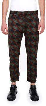 Prada Linea Rossa Drill Trousers
