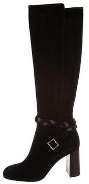 Ritch Erani NYFC Suede Knee-High Boots