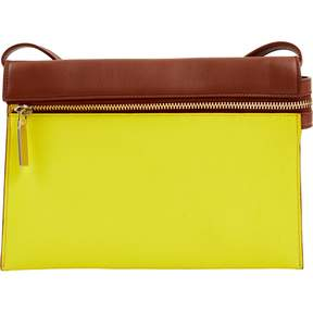 Victoria Beckham Yellow Leather Handbag